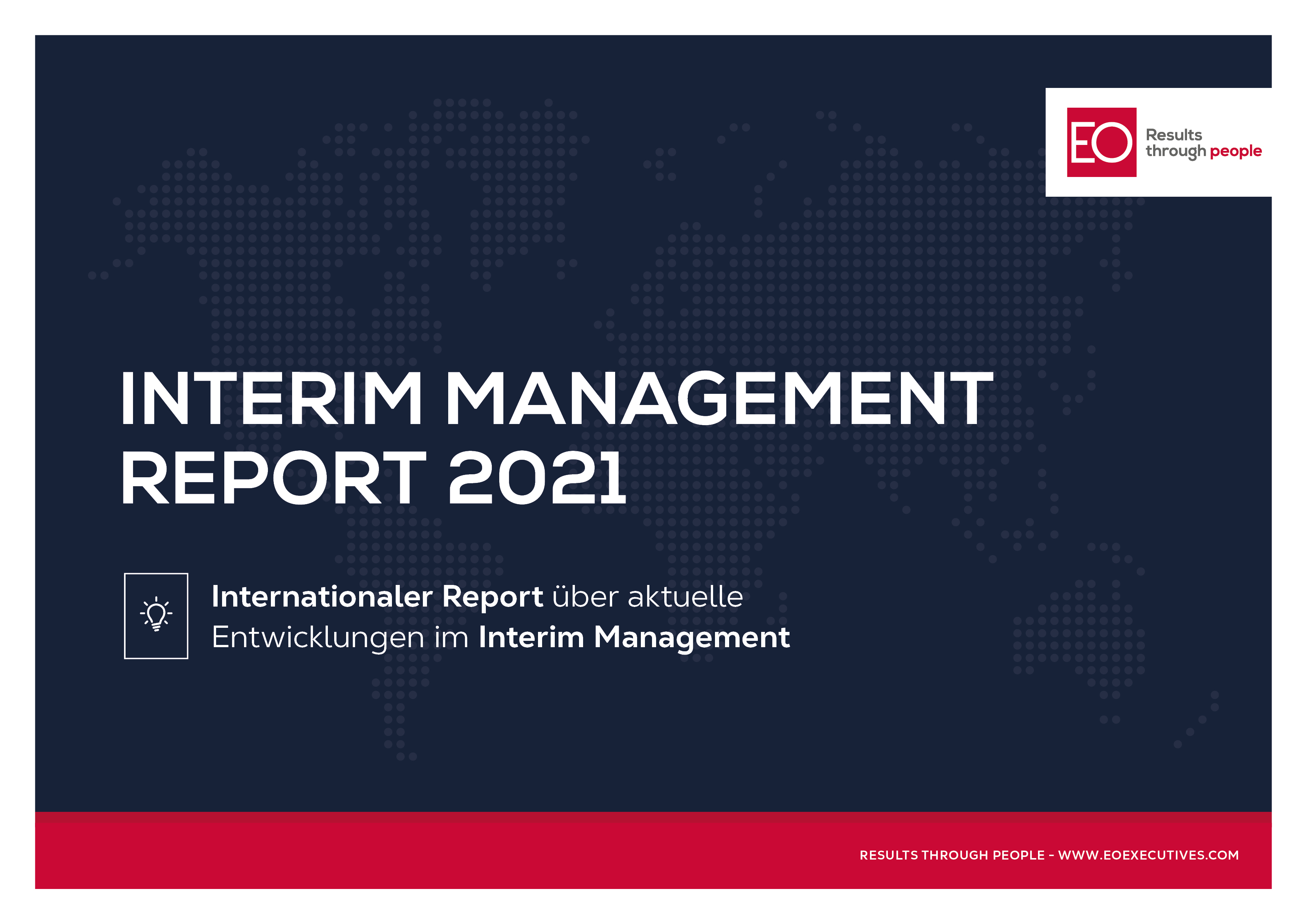 Interim Management Report 2021 by EO Executives - Results through people